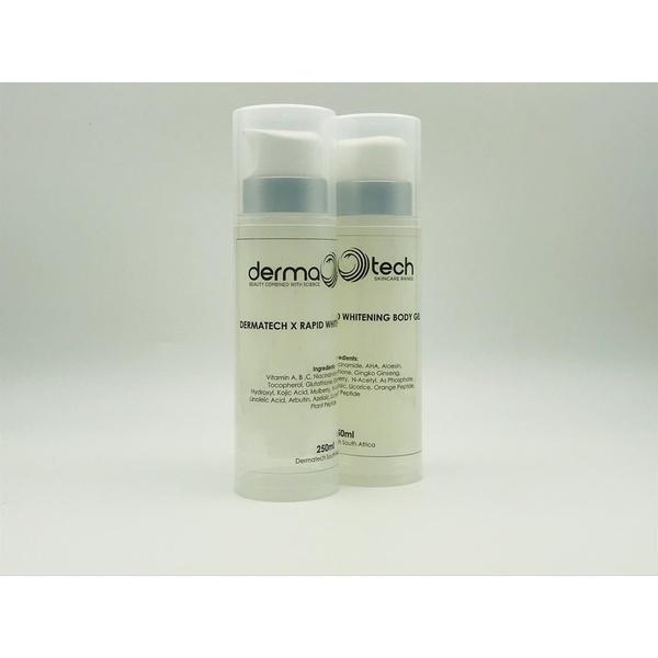 Dermatech rapid whitening body gel picture