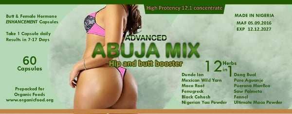 Abuja mix capsules x 1 picture