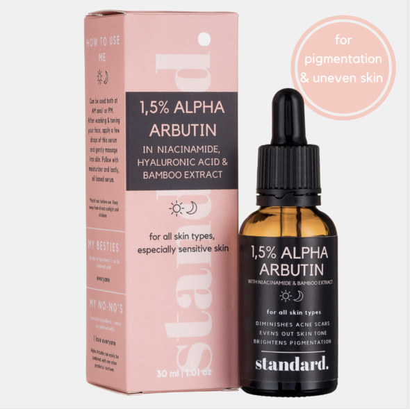 Standard beauty alpha arbutin 1.5% serum - pigmentation and uneven skin (day/night) picture