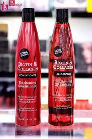 Combo deal - biotin and collagen thickening shampoo and conditioner (400ml each) picture