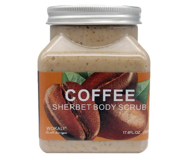 Wokali lightening sherbet body scrub - coffee picture
