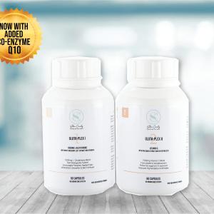 Gluta-plex – 1000mg l-glutathione supplement plus separate vitamin c & co-enzyme q10 picture