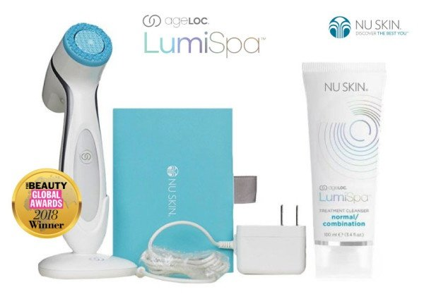 Ageloc lumispa beauty device face cleansing kit picture