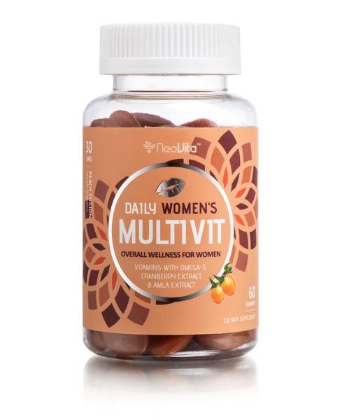 Neovita daily women's multivitamin gummies 60 picture