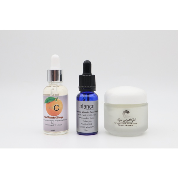 Pigmentation reduction, restore & hydrate package picture