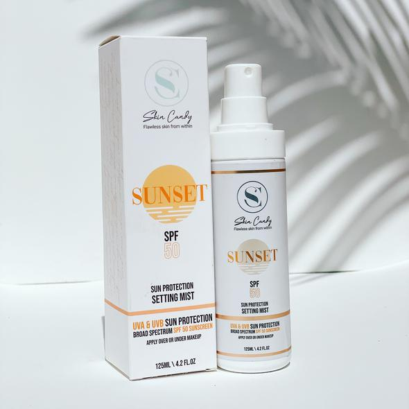 Sunset - spf 50 setting mist picture