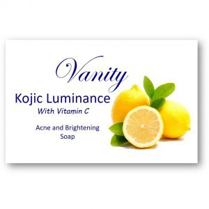 Kojic luminance acne and brightening soap picture