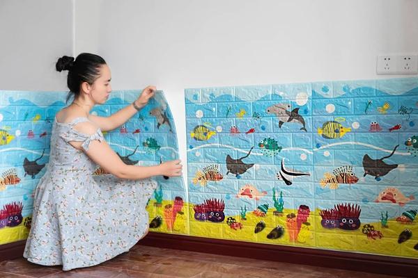 Kids foam panel picture
