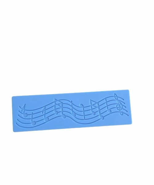 Silicone musical note mould picture