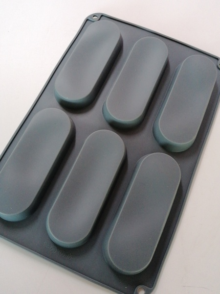 Silicone large eclair mould picture