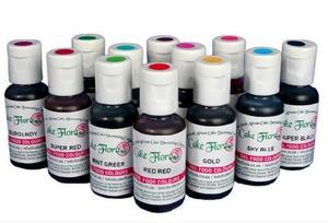 Cake flora gel colours 21g picture