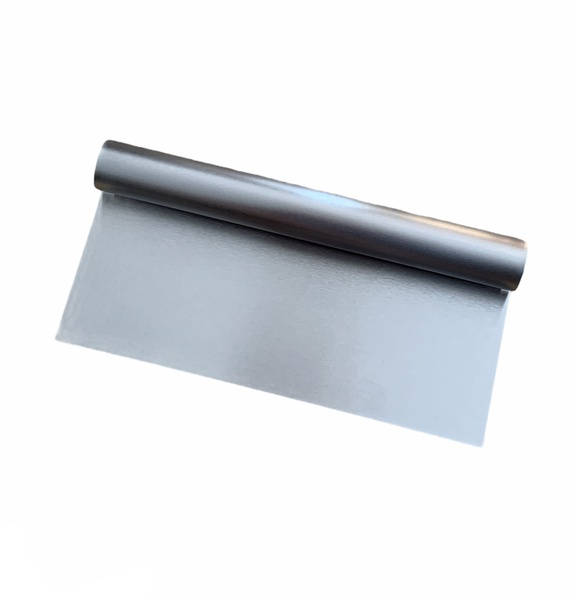Cake scraper stainless steel 20cm picture