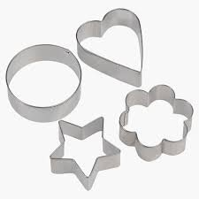 4pc star,circle,heart &flower cookie cutter set picture