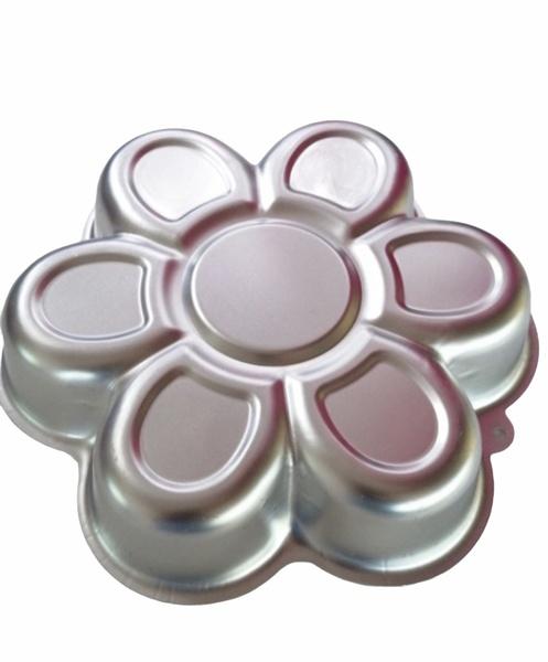 Flower aluminum cake pan picture