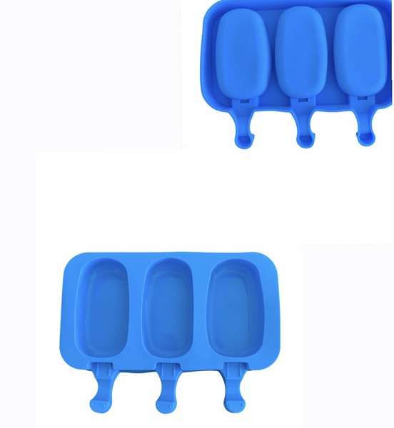 Silicone cakesickle mould 3 cavity picture
