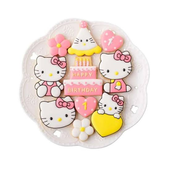 Hello kitty multi cutters 8pc picture