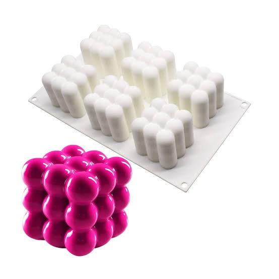 Bubble silicone mould 6 cavity picture