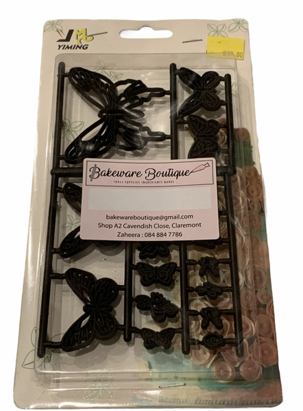 Butterfly silhouette cutters picture
