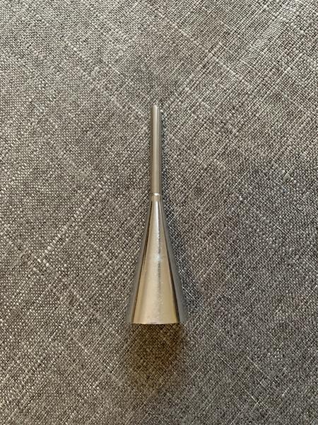 Long pastry filler nozzle 9cm picture
