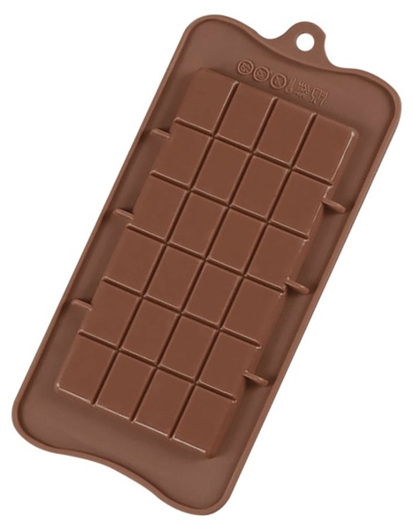 Silicone large chocolate slab mould picture