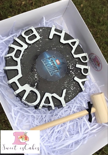 Happy birthday silicone cake mould picture