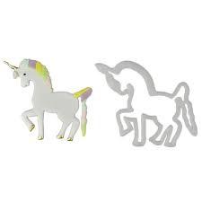 Unicorn cutter set 2pc picture