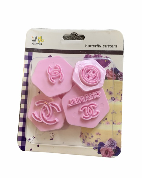 Chanel cake stamp set 4pc picture