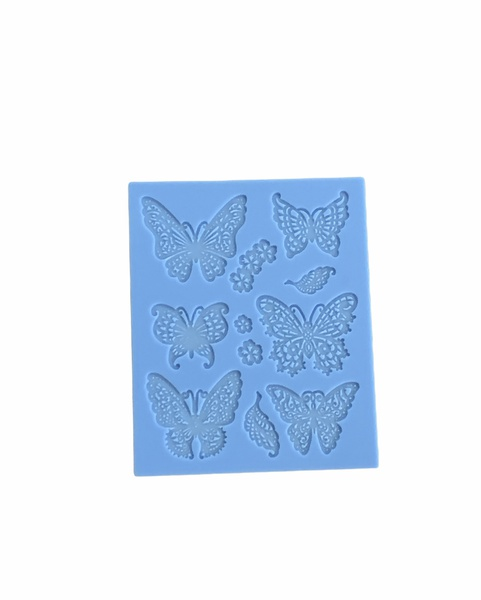 Silicone butterfly mould picture