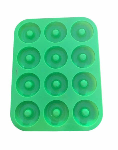 Silicone donut mould (standard size)12 cavity picture