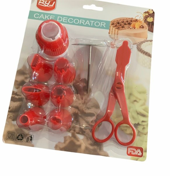 Nozzles ,nail and scissor set picture