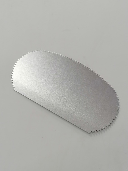 Metal icing comb b1716 picture