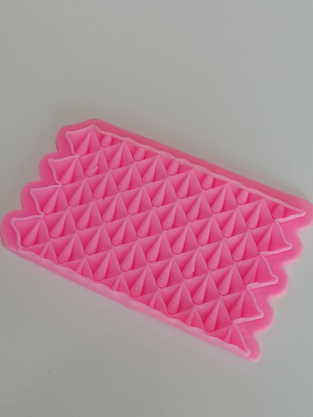 Silicone mould teardrop picture