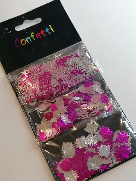 Happy birthday confetti picture