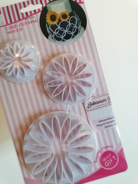 Sunflower cutter set 3pc picture