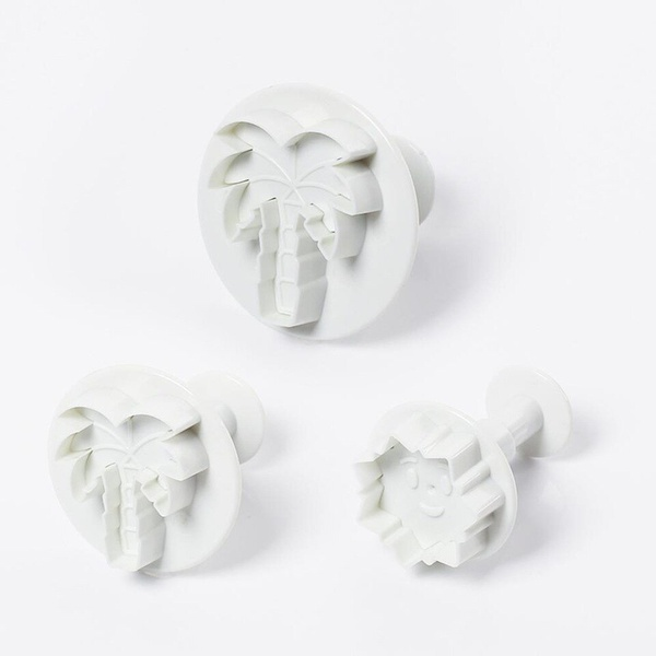 Palm tree plunger cutter set 3pc picture