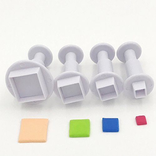 Square plunger cutter set 4pc picture
