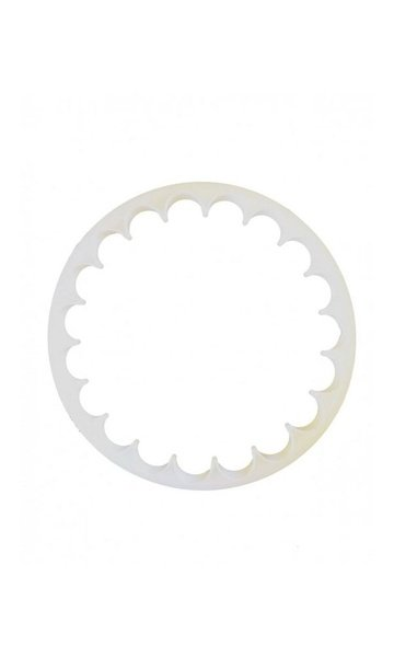 Frilly plaque cutter picture