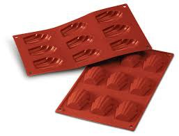 Silicone mould madeline 9 cavity picture