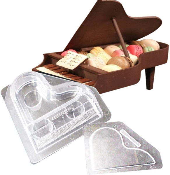 Acrylic piano chocolate mould picture