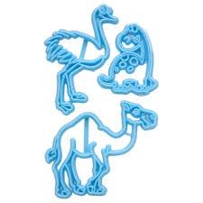 Ostrich,tortoise,camel cookie/fondant cutters picture