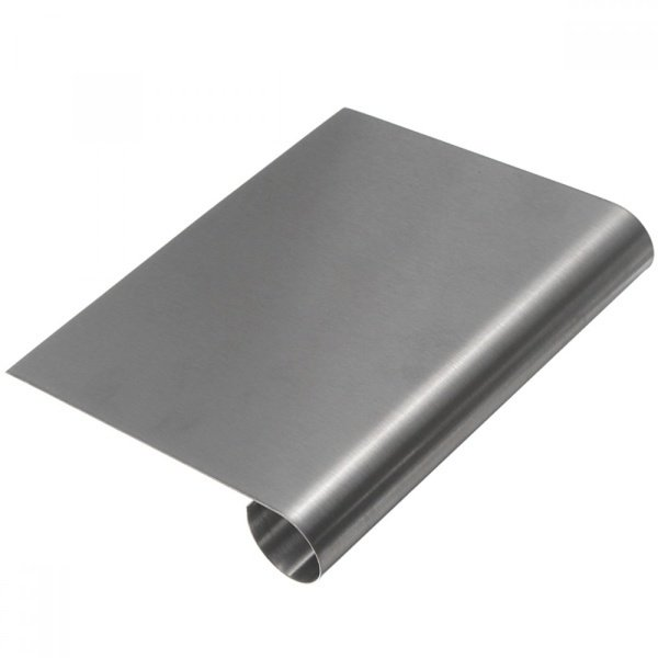 Cake scraper 15cm stainless steel picture