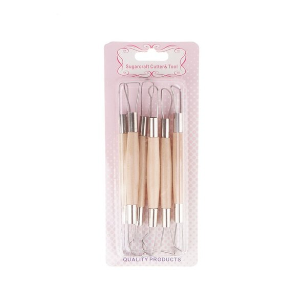 Sugarcraft cutter and tool set 6pc picture