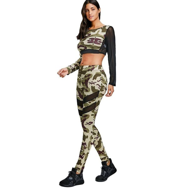 Peyton - camo sporty set 2 piece picture