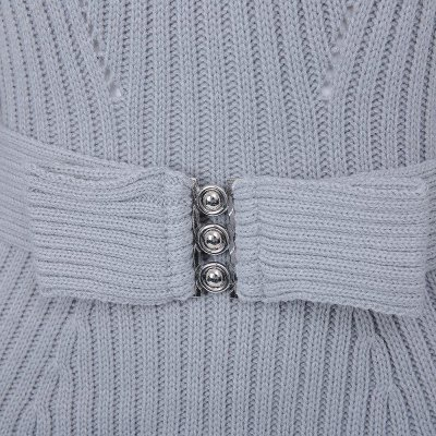Carrie - thick knit belted jersey picture