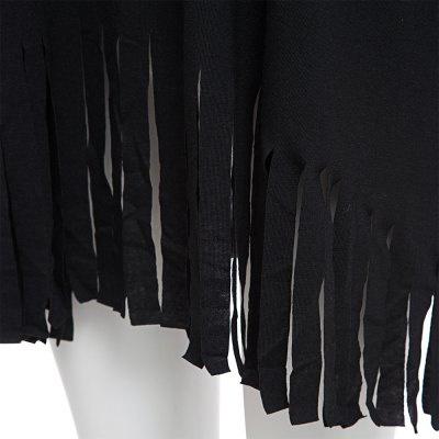 Clearance item - 6789 - black tassel loop top picture