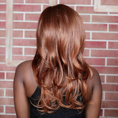 Julia - auburn long wig picture