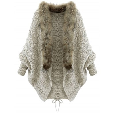 Nova - cardigan jerseys imitation fur cardigans picture