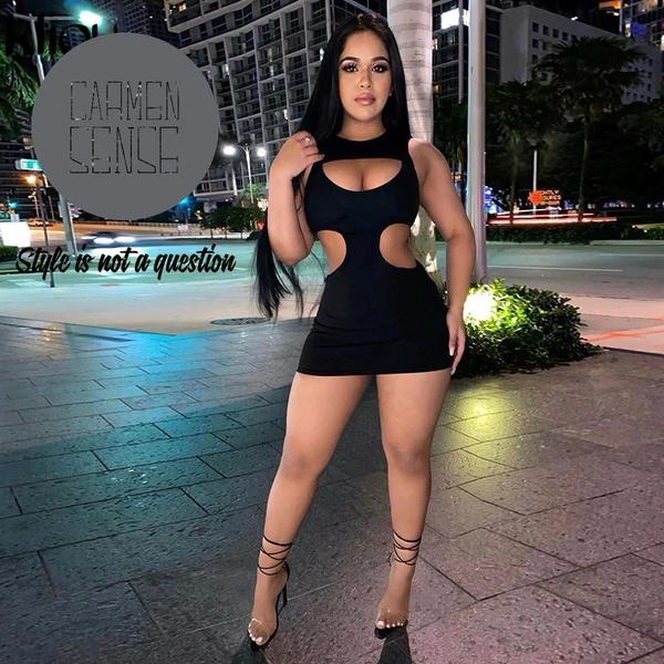 Bella belle black bodycon picture