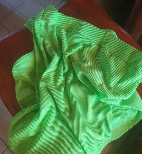 Sierra neon green 2 piece set picture