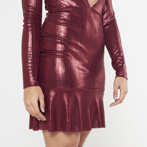 Daisy dress - red picture